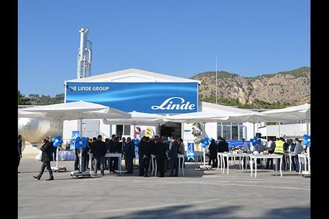Linde Gaz Turkey CO2 plant
